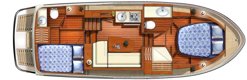 Linssen Grand Sturdy 30-9 AC // Dutch Yacht Rentals